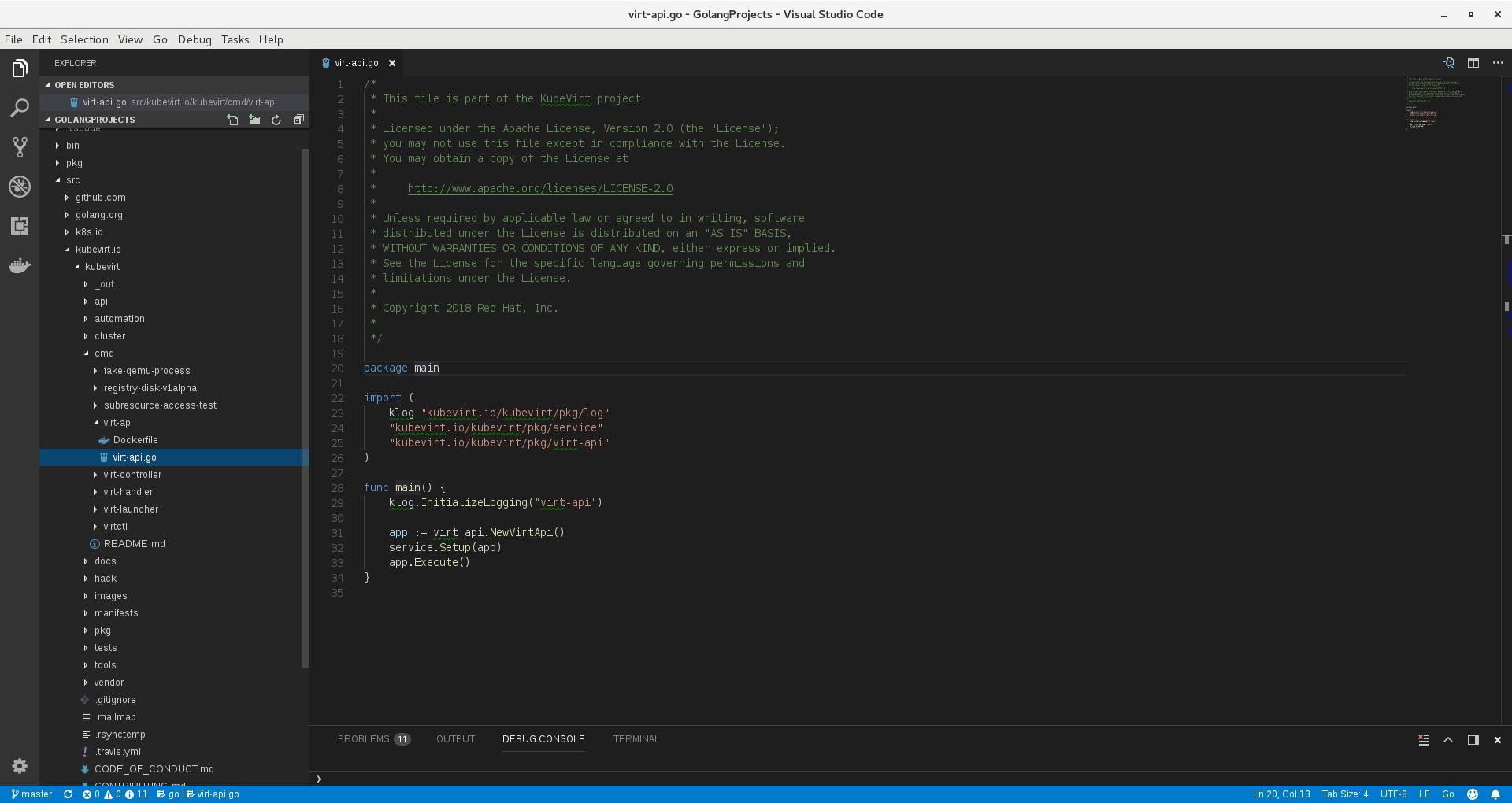 Use Vs Code For Kube Virt Development