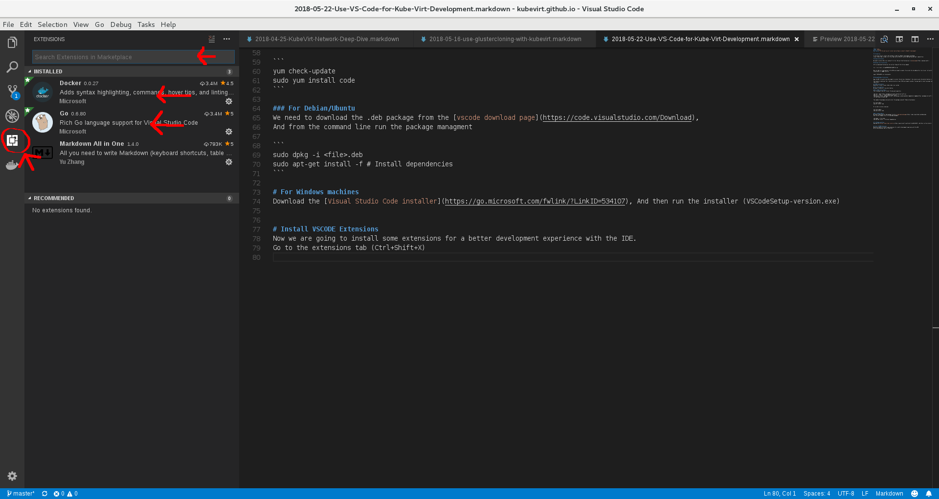 Use Vs Code For Kube Virt Development | KubeVirt io
